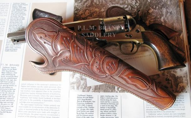 Slim Jim Holster California Pattern Holster